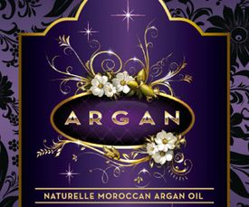 Lable - ARGOIL - Etikettdesign