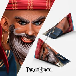 Pirat juice illustration